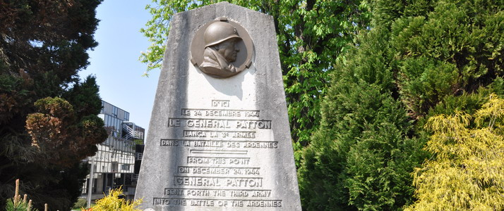 Monument Patton Arlon P. Willems